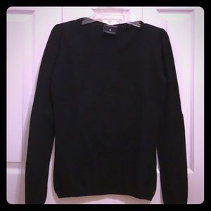 Maison Scotch Sweater with Star Patch elbows